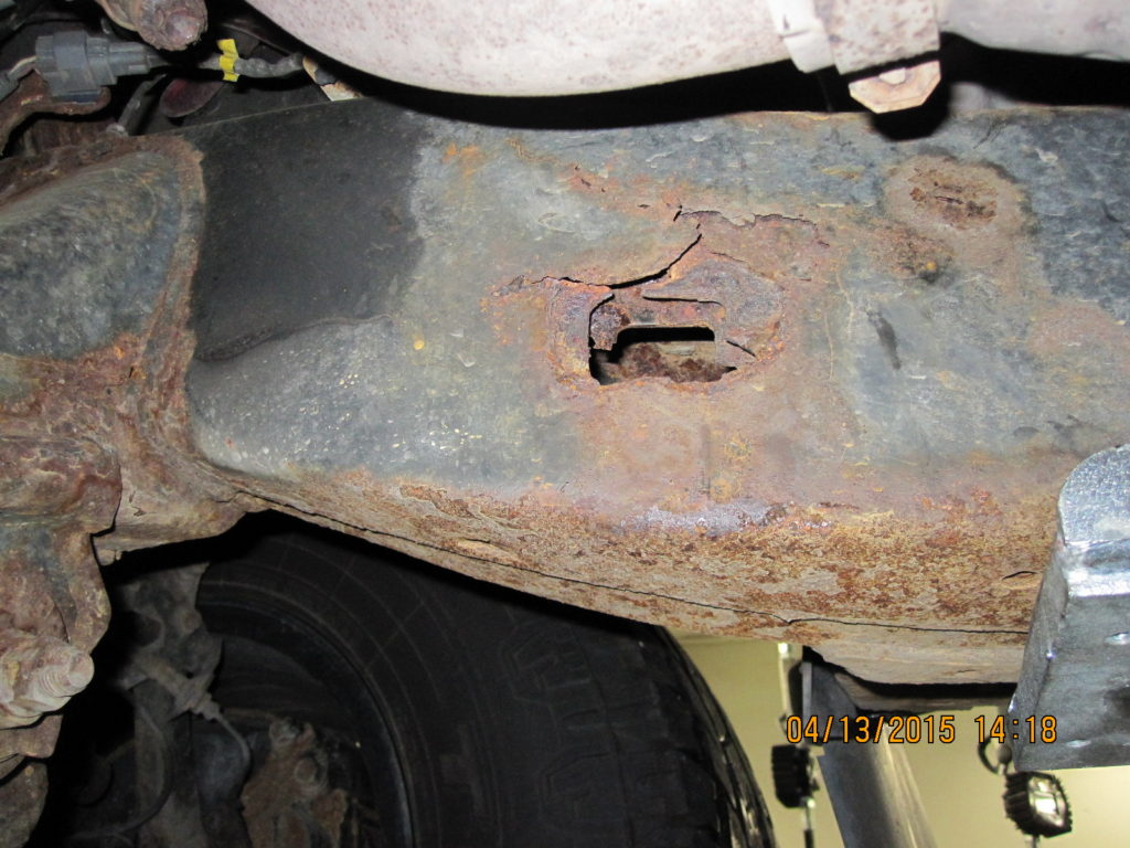 Toyota Tacoma Frame Rust Lawsuit