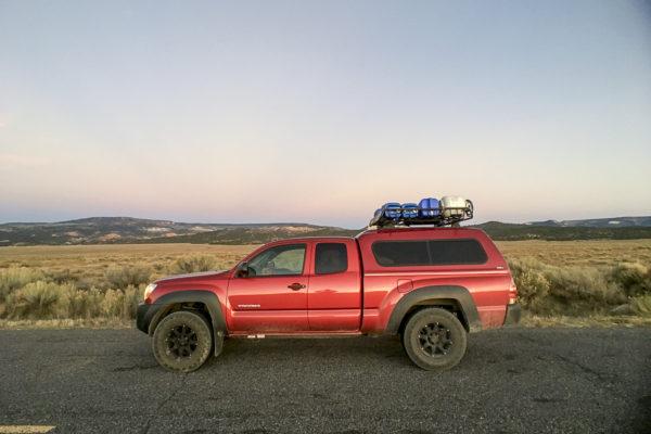 11.08.16 – #CampTacoma somewhere between Bryce Canyon & I70, Utah