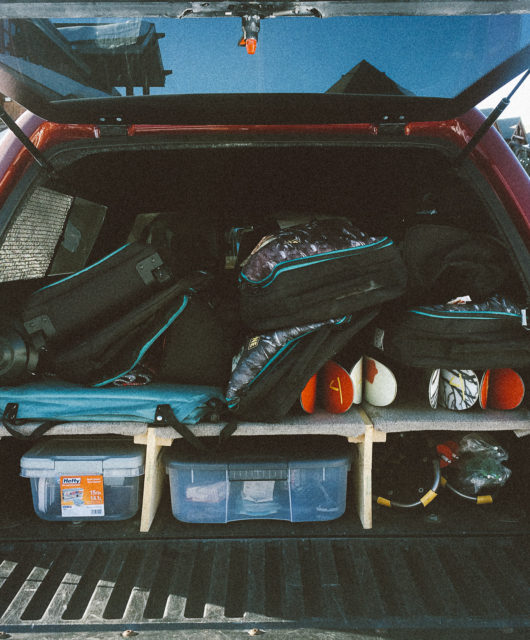 Fully loaded 2005 Toyota Tacoma, but not in the way you'd suspect.