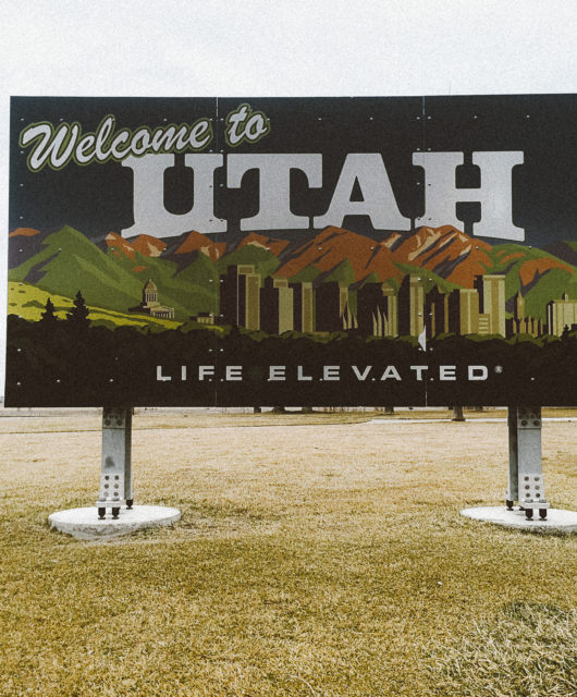 """Welcome to Utah."""