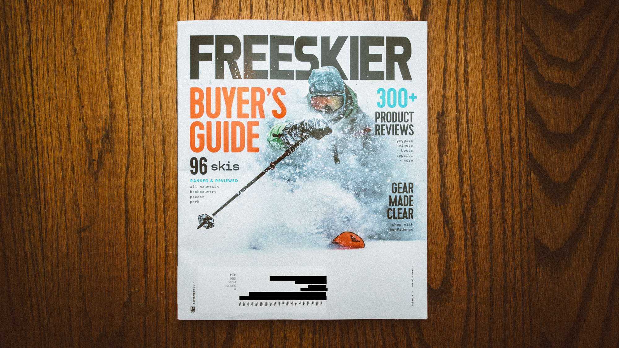 2018 Freeskier Magazine Ski Buyer's Guide - Dan Brown © Kapitol Photography