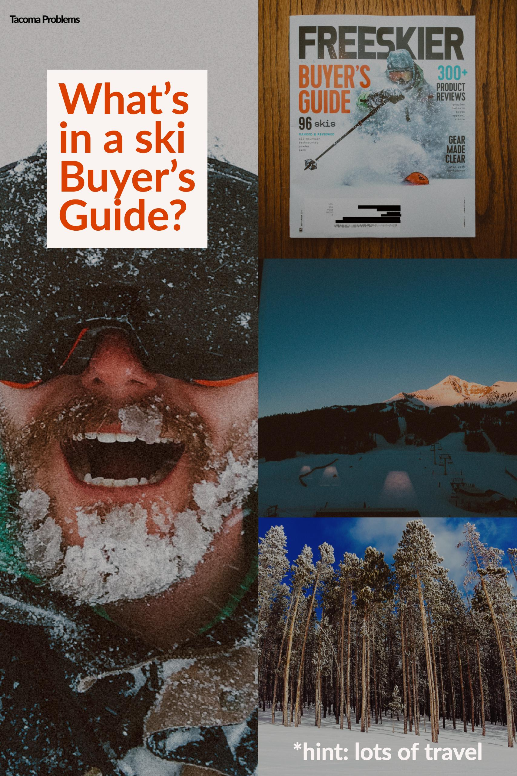 What's in a ski Buyer's Guide?